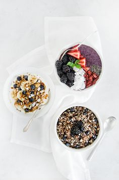 3 Fruit-Filled Breakfast Bowls to Prep Today and Enjoy All Week #theeverygirl