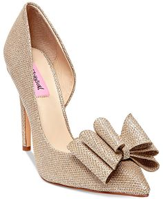 Betsey Johnson Prince d'Orsay Evening Pumps - Betsey Johnson - Shoes - Macy's