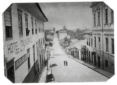 Rua de São João, 1887. (Militão Augusto de Azevedo)