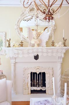 DIY:: Fireplace Makeover (full tutorial)