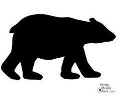 polar bear silhouette google search more pea s nursery polar bears ...
