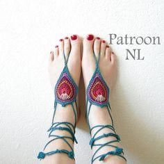 Iets Nieuws De 13 beste afbeelding van blote voet sandalen - Crochet sandals @QE82