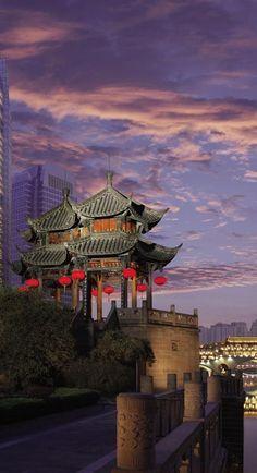 Shangri-La Hotel Chengdu in China.