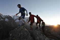 Trail Running. I would love to do this..