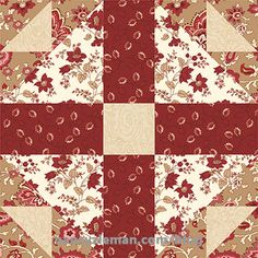 March 2017 Block of the Month by Nancy Zieman/Sewing With Nancy Duck & Duckling Block Quilt Block Patterns, Pattern Blocks, Quilt Blocks, Sewing With Nancy, Quilting Quotes, Red And White Quilts, Miniature Quilts, Block Of The Month, Vintage Quilts