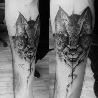 Image result for slavic wolf tattoo