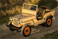 "Willys-Overland ""Jeep"" CJ-2A: 1945-1949"