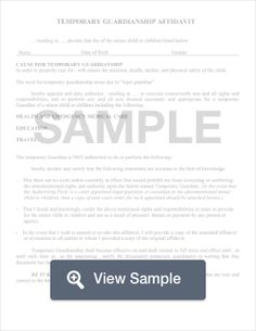 Steps to establish a temporary guardian for your child babies create a guardianship form in minutes using a step by step template a guardianship form will be used by the parents or current guardians of a child to list solutioingenieria Images
