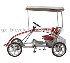 FOUR-WHEEL BICYCLE, View FOUR-WHEEL BIKE, GX FOUR-WHEEL BICYCLE Product Details from Shanghai Guangxin Entertainment Bicycle Co., Ltd. on Alibaba.com