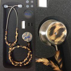 MDF MD One Cheetah Print Stethoscope