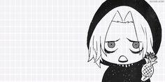 Seido Takizawa Chibi Pinneaple~ <3 Juuzou Suzuya, Tsukiyama, Kaneki, Tokyo Ghoul Takizawa, Anime People, Manga Characters, Trick Or Treat, Manhwa, Chibi