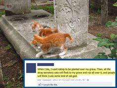 The cat god…