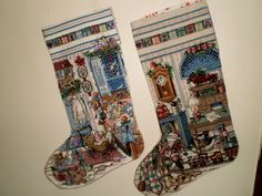 Counted Cross Stitch stockings