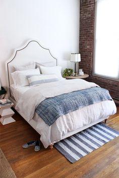 loft bedroom makover with pinecone hill // coco+kelley