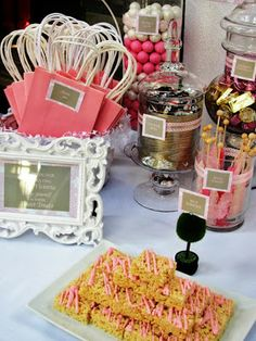 Shabby Chic Candy Table