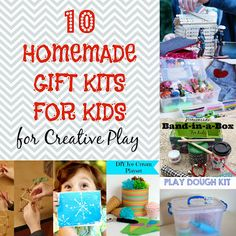 10 Homemade Gift Ideas Kits for Kids for Creative Play - The Eyes of a Boy