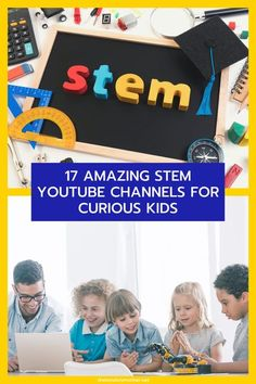 There are many STEM YouTube channels your kids can watch to engage with science. Find out which are the best for your kids here. #STEM #STEAM #homeschool #scienceforkids #techforkids #science #mathforkids