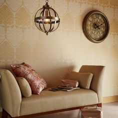 Find sophisticated detail in every Laura Ashley collection - home furnishings, children's room decor, and women, girls & men's fashion. Laura Ashley, Ashley Home, Bedroom Furniture Sets, Luxury Furniture, Furniture Design, Bedroom Ideas, Copper Wallpaper, Victorian Living Room, Gold Rooms