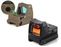 Trijicon Style Rmr Red Dot Scope Mini Red Dot Sight With Adjustable Switch For… Airsoft Gear, Tactical Gear, Red Dot Optics, Ar Optics, Red Dot Scope, Iron Sights, Red Dot Sight, Tac Gear, Air Rifle