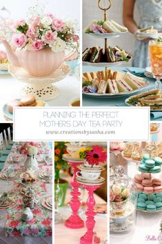 With some basic planning and a little creativity, you can easily create a charming, Mother's Day tea party that will no doubt become a yearly tradition.