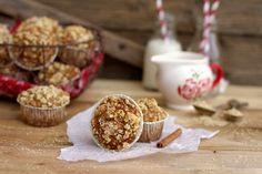 Muffiny daktylowe z orzechową kruszonką