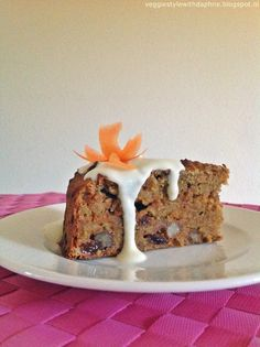 Healthy Carrot Cake Recipe!!! So great :)