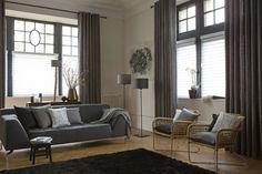 cortinajes para salones modernos