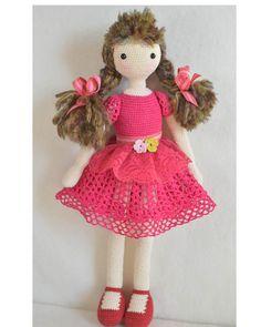 Crochet doll ♥ by chepidolls on Etsy