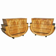 1stdibs   Pair of Chests of Drawers Very Special