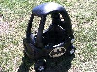 Little Tikes Car Transformed into Batmobile DIY