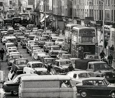 Elephant and Castle, PREVIOUS POSTER: I can see a 68 bus, my route to visit Auntie Ethel, luckily it was never this busy) London History, Local History, New South, South London, Vintage London, Old London, My Route, Elephant And Castle, Walks In London