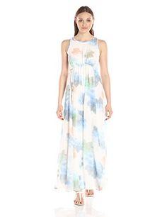 f525a6d470 online shopping for Calvin Klein Women s Sleeveless Chiffon Maxi Dress from  top store. See new offer for Calvin Klein Women s Sleeveless Chiffon Maxi  Dress