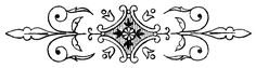 *The Graphics Fairy LLC*: Black and White Line Drawings - Ornamental Doodads