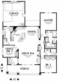 3 bedroom house, or 2 bedroom plus study.... perfect for us to start out in!