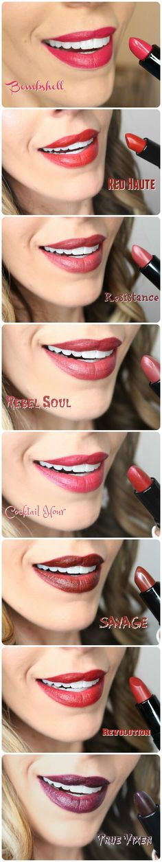 NYX COSMETICS Pin-Up Pout Lipstick Swatches (ALL 24) | Review & Swatches!