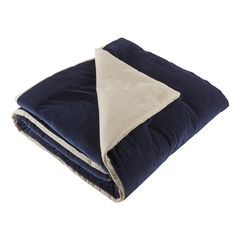 Velvet Prussian Blue Throws - Extra Large x Prussian Blue Warm Colors, Colours, Superking Bed, Prussian Blue, Luxury Throws, Blue Throws, Velvet Cushions, Cotton Velvet, White Bedding