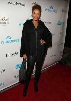 Nicole Murphy Photos - Actress Nicole Murphy attends the WishClouds Launch Party at Bootsy Bellows on November 20, 2014 in West Hollywood, California. - WishClouds Launch Party