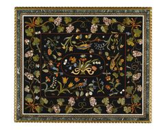 An Italian pietre dure inlaid table top, Florentine, first half 17th century | Lot | Sotheby's