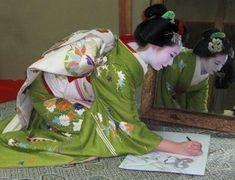 Geisha Maiko de Okiya Mura: febrero 2011