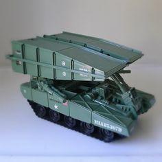 Vintage GI JOE Toy / Tank, Bridge Layer, 1984.