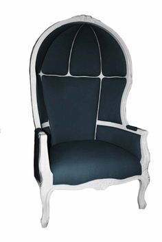 Katie Kime Birdcage chair in navy