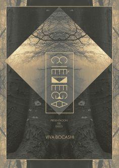 Viva Bocashi - CD cover by R    O    S    Y , via Behance