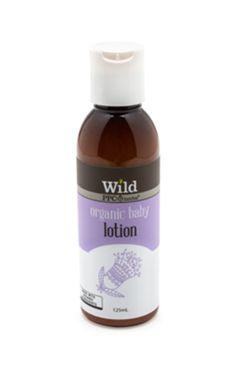 Wild Organic Baby Lotion