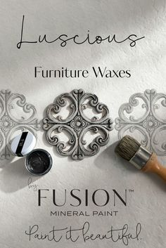 Fusion Mineral Paints Furniture Waxes go on as soft and smooth as butter, blend beautifully into your piece, and provide beautiful accenting and long term durable protection. There is virtually no smell to them at all, and they're so so easy to work with! Furniture Wax, Recycled Furniture, Black Furniture, Furniture Projects, Furniture Makeover, Kitchen Furniture, Salon Furniture, Furniture Websites, Refurbished Furniture