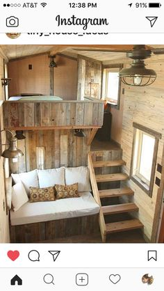 16 Tiny House Interior Design Ideas www.futuristarchi& 16 Tiny House Interior Design Ideas www.futuristarchi& The post 16 Tiny House Interior Design Ideas www.futuristarchi& appeared first on House. Tiny Cabins, Tiny House Cabin, Tiny House Living, Tiny House Plans, Tiny House Design, Bus Living, Tiny House Bedroom, Small Living, Small Bedrooms