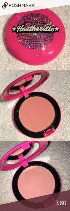 MAC Heatherette!! Collectors item, beauty powder Beauty powder in Alpha Girl. Limited edition, major collectors item! Brand new but no box. MAC Cosmetics Makeup Face Powder