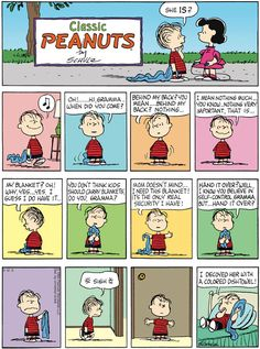 "Classic Peanuts Comic Strip are one of the many comics I love reading in the news paper. My parents had the daily paper delivered to our home. I always read the comics. I call them the educational page. Next I would read the sports. Had to see how my Cincinnati Reds were playing. The ""Big Red Machine"", as we called them."