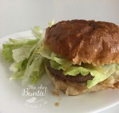 #Hamburger con #cipolle in #agrodolce (Sweet and sour #onion #hamburger)