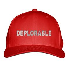 Deplorable Embroidered Baseball Cap