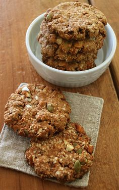 Low Carb Sweets, Healthy Sweets, Healthy Food, Gluten Free Recipes, Healthy Recipes, Bread Recipes, Cafe Food, Oatmeal Recipes, Protein Snacks